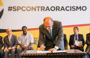 Estado de São Paulo e clubes contra o racismo