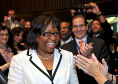 Carissa Etienne é eleita nova Diretora da Organização Pan-Americana da Saúde