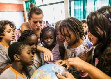 Sotaque haitiano em salas de aula de Porto Alegre