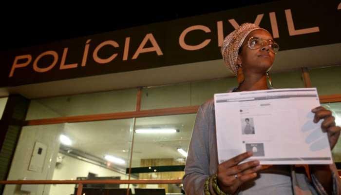 """""""Registrei boletim de ocorrência, o post já foi retirado do ar, assim como o perfil da pessoa que postou, e estou vendo com advogado o que pode ser feito"""", disse a jornalista Raíssa Gomes"""