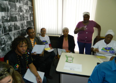 Povos tradicionais e quilombolas interagem em encontro preparatório municipal para a V CMSANS de Porto Alegre