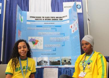 Estudantes baianas recebem menção honrosa na maior feira de ciências do mundo