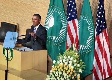 'Ninguém deve ser presidente por toda vida', diz Obama a líderes da União Africana na Etiópia