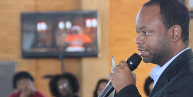 Diretor e fundador do Portal Áfricas e da Agência Áfricas de Notícias, Washington Andrade. (Foto: Portal Áfricas)