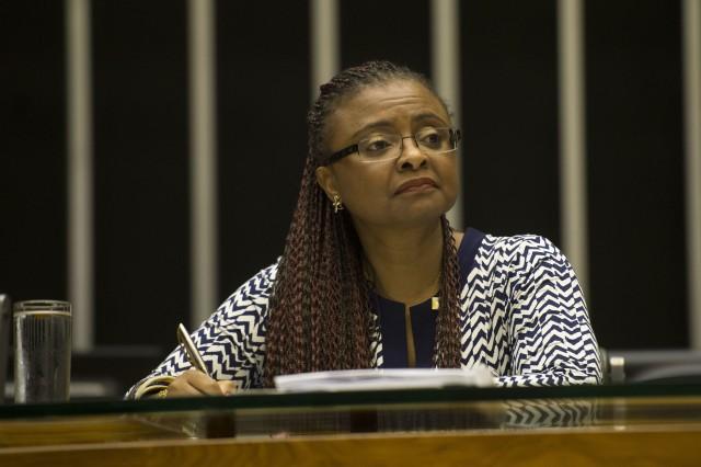 Ministra da Secretaria de Políticas de Promoção da Igualdade Racial (Seppir), Nilma Lino  (Foto: Marcelo Camargo/Agência Brasil)