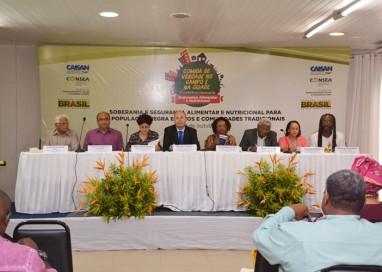Encontro discute segurança alimentar dos povos e comunidades tradicionais