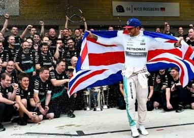Hamilton: o domínio e o tricampeonato