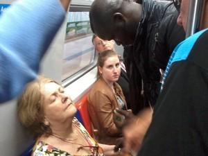 'Não faço por dinheiro', diz senegalês que socorreu idosa em trem no RS