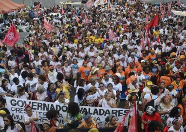 Marcha das Mulheres Negras interdita Eixo Monumental