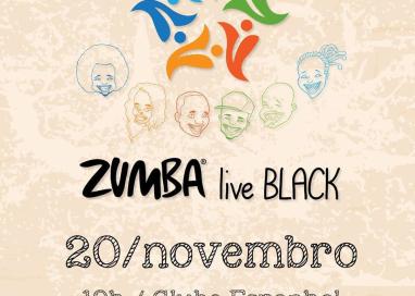 Zumba live Black acontece no dia da Consciência Negra