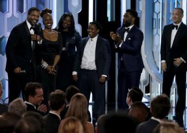 Denzel Washington é homenageado no Globo de Ouro 2016