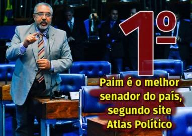 Paim é o melhor senador do país, segundo site Atlas Político