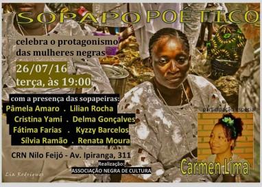 Sopapo Poético celebra o protagonismos das mulheres negras