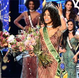 Paranaense Raissa Santana é eleita Miss Brasil 2016; ela é a segunda negra a vencer concurso