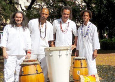 Alabem Brasileiro com o grupo Alabê Öni