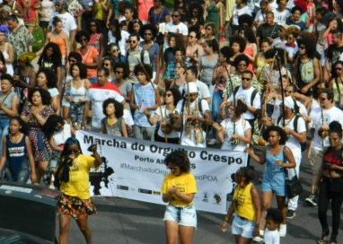 2ª Marcha do Orgulho Crespo, em Porto Alegre, exalta o cabelo negro