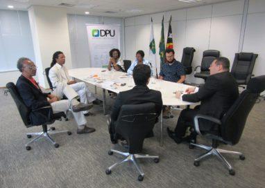 Desafios enfrentados pelo país são tema de reunião entre DPU e Fopir