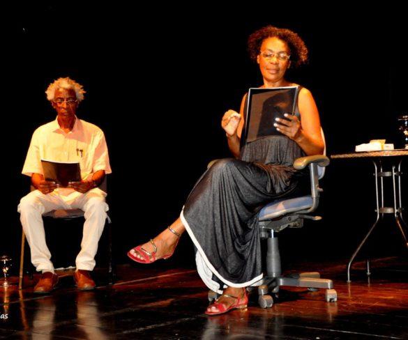 Atriz gaúcha faz leitura dramática no 1º FNAC em Salvador