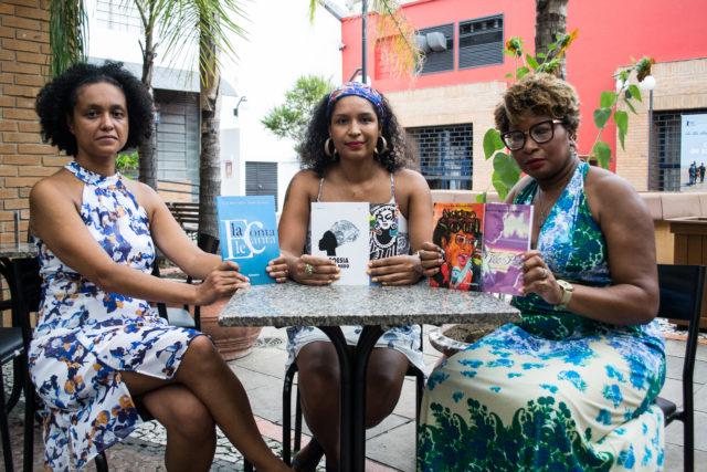 03/03/2017 - PORTO ALEGRE, RS - Entrevista com as escritoras Lilian Rocha e Ana dos Santos e Taiasmin. Foto: Maia Rubim