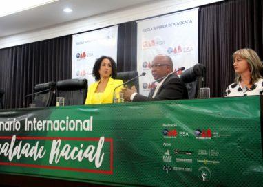 Seminário Internacional pela Igualdade Racial lota auditório da OAB/RS