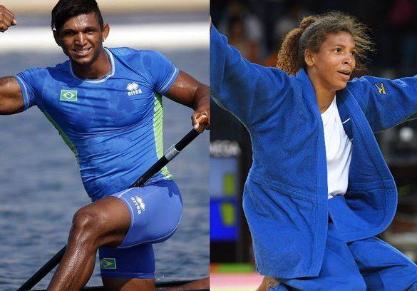 Isaquias Queiroz e Rafaela Silva vencem o Prêmio Brasil Olímpico