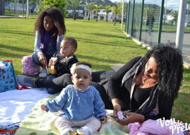 Blog Vou de Preta realiza picnic em homenagem ao dia das mães