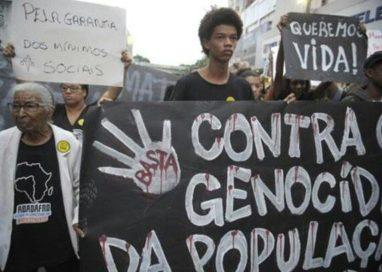 Dia de Mobilização do Fopir  Contra o Genocídio da População Negra