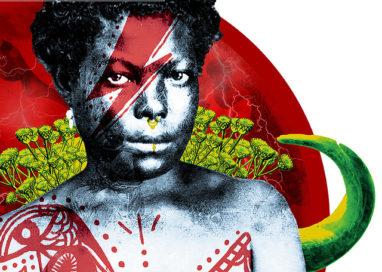PR: Artista de Londrina ressignifica retratos de negros do século 19