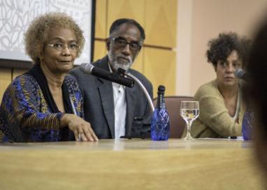 Goli Guerreiro e Goya Lopes falam sobre a arte negra na diáspora, em seminário da Bienal