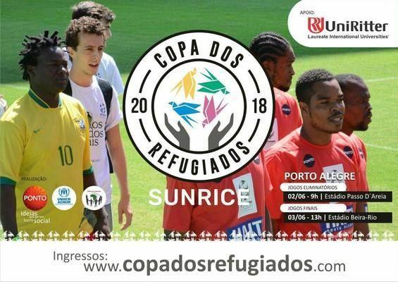 Estudantes da UniRitter realizam cobertura da Copa dos Refugiados