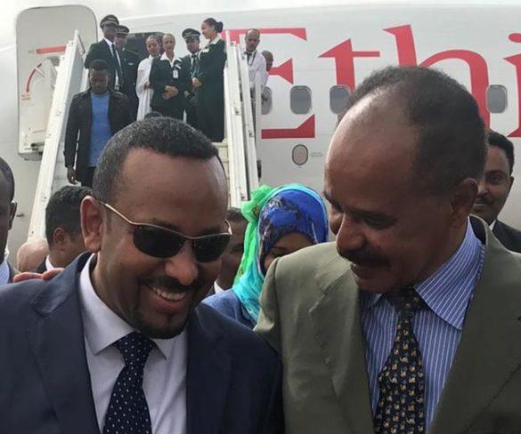 Fim da guerra entre Etiópia e Eritreia